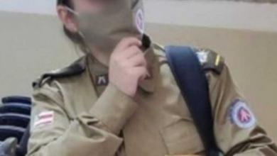 Foto de Jovem é presa após se passar por policial militar para 'dar orgulho à família'