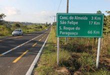 Foto de Governador entrega obras de Infraestrutura, educação e assina ordem de serviço em Conceição do Almeida e São Felipe