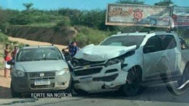 Foto de Colisão entre dois veículos deixa uma vítima fatal em Cruz das Almas