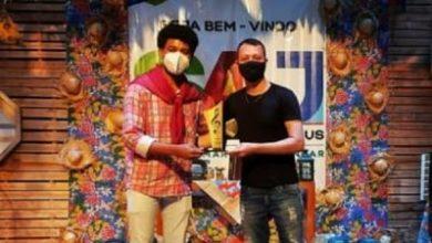 Foto de Reginaldo e Naldo  foram os vencedores do Concurso da Esperança com a música 'Cidade forrozeira' em Santo Antônio de Jesus