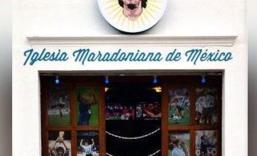 Foto de Polêmica: Igreja em homenagem a Maradona é inaugurada no México