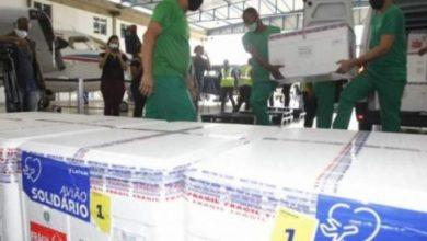 Foto de Bahia: Lote com mais de 280 mil doses de vacinas contra Covid-19 chega nesta sexta-feira