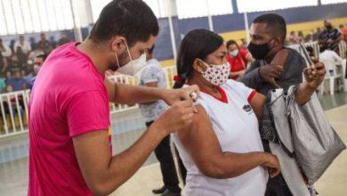 Foto de SAJ: Secretaria aplicou 1480 doses de vacina contra a COVID-19