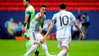 Foto de Nos pênaltis Argentina bate a Colômbia e enfrenta o Brasil na final da Copa América