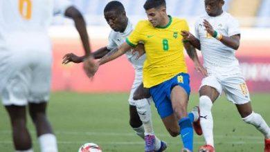 Foto de Brasil ficou no empate sem gols contra a Costa do Marfim nas Olimpíadas de Tóquio