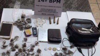 Foto de Polícia apreende drogas, munições e celulares em Cações na cidade de Jaguaripe