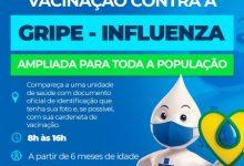 Foto de Secretaria de Saúde amplia vacinação contra influenza em Santo Antônio de Jesus
