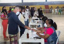 Foto de COVID-19: Neste domingo (25), foram aplicadas 2031 doses do imunizante em Santo Antônio de Jesus