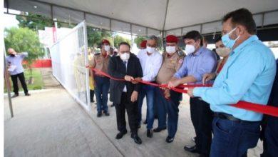 Foto de 2º Pelotão do 16º Grupamento de Bombeiros é inaugurado em Cruz das Almas
