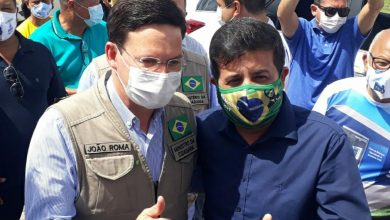 Foto de Pastor Reinaldo do Aprisco tem encontro com o Ministro João Roma: o pastor é pré-candidato a deputado estadual