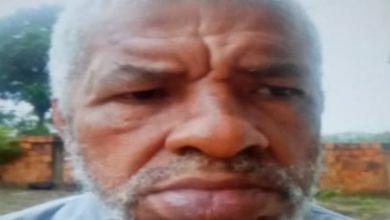 Foto de SAJ: Família procura idoso desaparecido