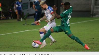 Foto de Na Série A do Brasileiro, Bahia empata com Cuiabá e chega a 5 jogos sem ganhar