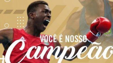 Foto de Keno Marley é recepcionado em Conceição do Almeida e Sapeaçu, após Olímpiadas de Tokio