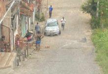 Foto de SAJ: Motorista perde controle na Ladeira do Milagroso e carro capota