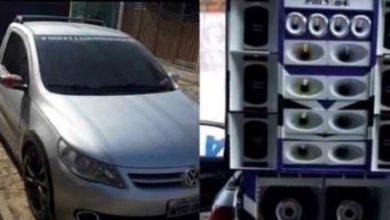 Foto de Foi encontrado em Valença, carro roubado em Santo Antônio de Jesus