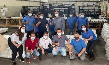 Foto de Prefeito de Dom Macedo visita fábrica em São Paulo e trata sobre geração de novos empregos