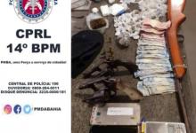 Foto de Ubaíra: Polícia realiza prisão, apreensões e drogas
